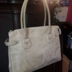 Handbags - Jessica Simpson suede purse